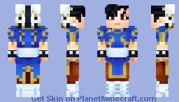 Chun-Li Minecraft Skin