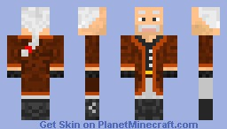 MGS - Revolver Ocelot Minecraft Skin