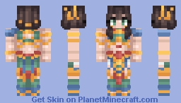 ☀️ High Priestess Amenset Minecraft Skin