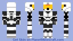 Halo Snow Spartan Minecraft Skin