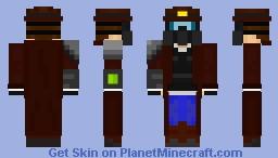 Apocalyptic Ranger/Cowboy Minecraft Skin