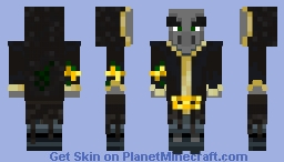 Evoker Emperor Minecraft Skin