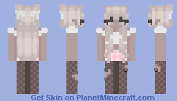 Blonde Trainwreck Minecraft Skin