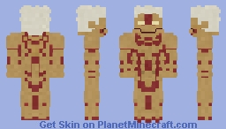 Attack On Titan - Armoured Titan (Reiner Braun) Minecraft Skin