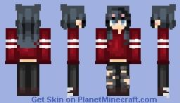 watching the stars Minecraft Skin