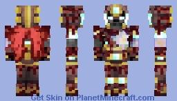 Netherite Sentinel (Contest Entry) Minecraft Skin