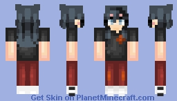 looking at the moon Minecraft Skin