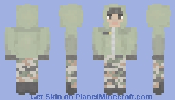 Indian Army Winter/Alpine Uniform Minecraft Skin