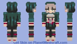 2015 Minecon Cape Matching Skins Female,  (Male in desc) Minecraft Skin