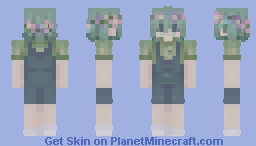 basil - omori (dream world version) Minecraft Skin