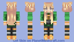 2013  Minecon Cape Matching Skins Female,  (Male in desc) Minecraft Skin