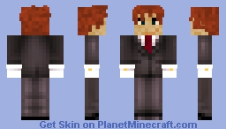 JtBearClaw's skin, but in a tux! Minecraft Skin