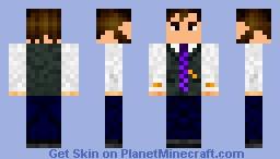 Dr. Hernes, A Botanist Minecraft Skin