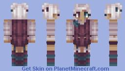 🌹 Refined Rose | Palette Contest Minecraft Skin