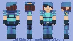 Jill Valentine, Master of Unlocking Minecraft Skin