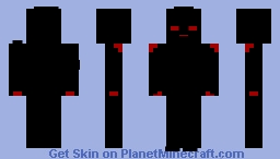 Something is Taking Over Him... Minecraft Skin