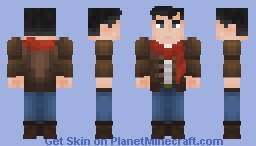 Bruce Wayne (Winter) Minecraft Skin