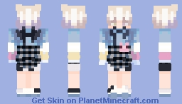 The skin I wasn't satisfied with but at least the sleeves shading didn't look bad Minecraft Skin