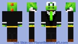 Buisness Yoshi Minecraft Skin