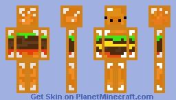 Hamburpig Minecraft Skin