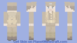 Ww1 Britsh Expeditionary Force Soldier (Early War) Minecraft Skin