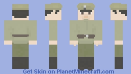 Siberian Cossack Ww1/Russian Civil war Minecraft Skin