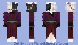 ??? I thought Huli jing were women only Minecraft Skin