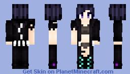 Ender Dragon's Daughter Minecraft Skin