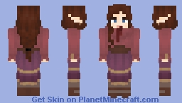 Berry-themed Minecraft Skin
