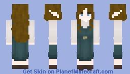 Generic Cyan-ish Dress Minecraft Skin