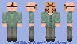 Jason Voorhees Minecraft Skin