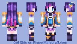 Senpai Noticed~ | League of Legends Minecraft Skin