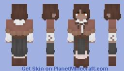 Fantastic Wind - Little Red Riding Hood Minecraft Skin