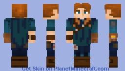 Cal Kestis bracca scrapper poncho Minecraft Skin