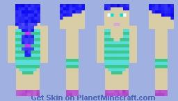 Beach Alex Minecraft Skin