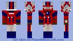XFL Houston Roughnecks - PJ Walker Minecraft Skin