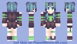 👽 Out of This World Minecraft Skin