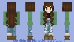 for there'll be peace when you are done (sam inspired) Minecraft Skin