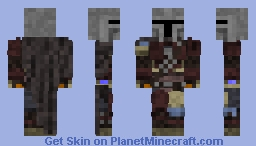 The Mandalorian Minecraft Skin