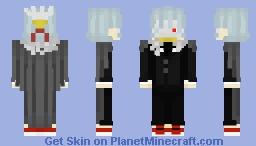 Tomura Shigaraki Alternative Outfit Minecraft Skin