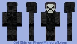 Dark Skeleton Minecraft Skin