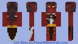 Tiefling Tarot Mage - Dalithra Kremrill Minecraft Skin