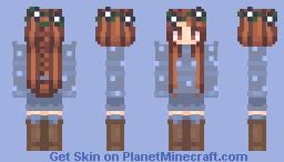 Ice Queen ~ Summer Vacation Minecraft Skin
