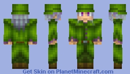 Guy In Coat Minecraft Skin
