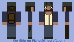Old Bum Minecraft Skin