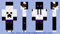 Ender bro Minecraft Skin
