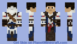Connor Kenway (1.8 Compatible!) Minecraft Skin