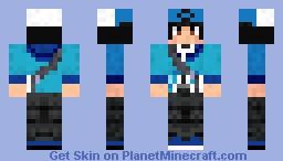 Pokemon Black Trainer (Male) Minecraft Skin
