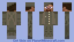WWII British Soldier Minecraft Skin