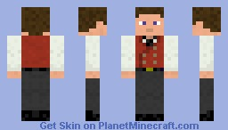 Mayor of Nova Minecraft Skin
